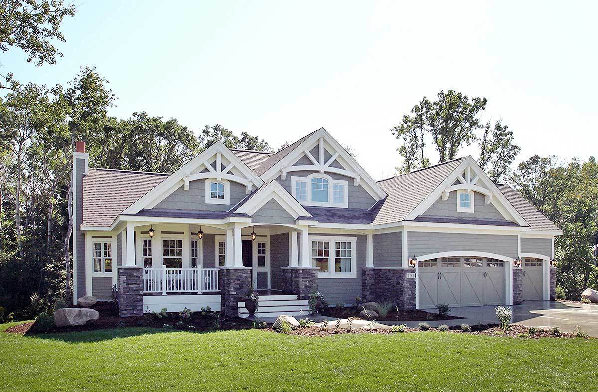Craftsman House Plans Architectural Designs