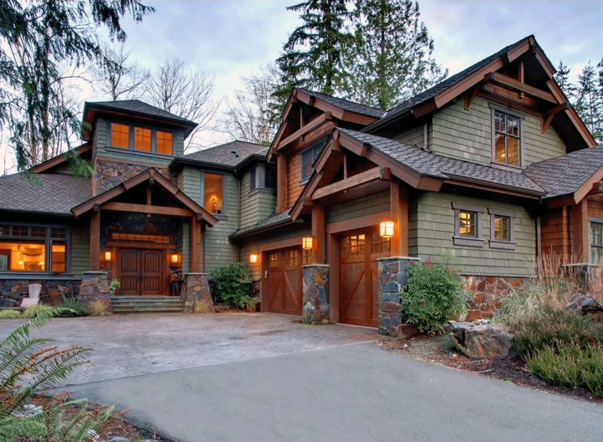 Craftsman Style House Plans for Mountain Home