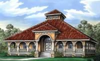 Florida Cracker House Plan - 24096BG | Architectural ...