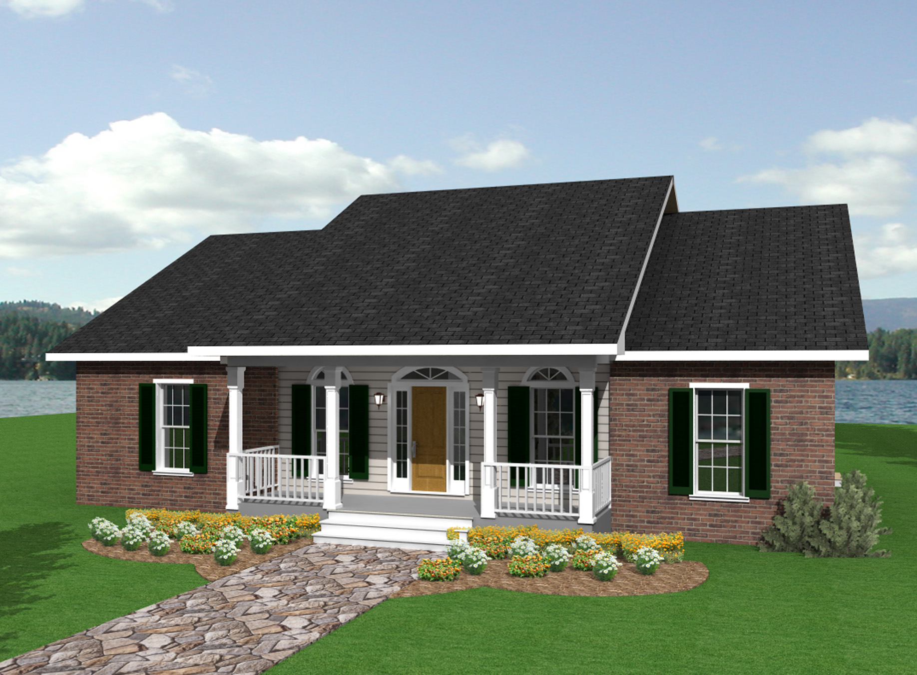 Simply Perfect - 2503dh Architectural Design House Plans