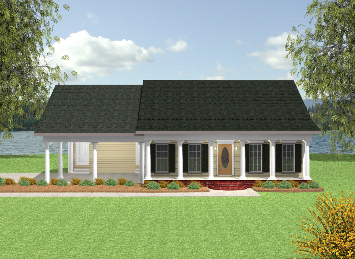 Country Cottage House Plans with Porches