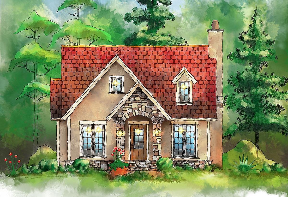 European Cottage House Plans