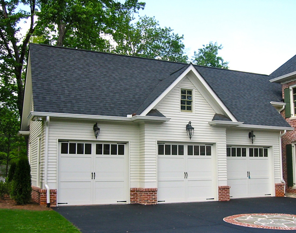 Detached 3 Car Garage Plans