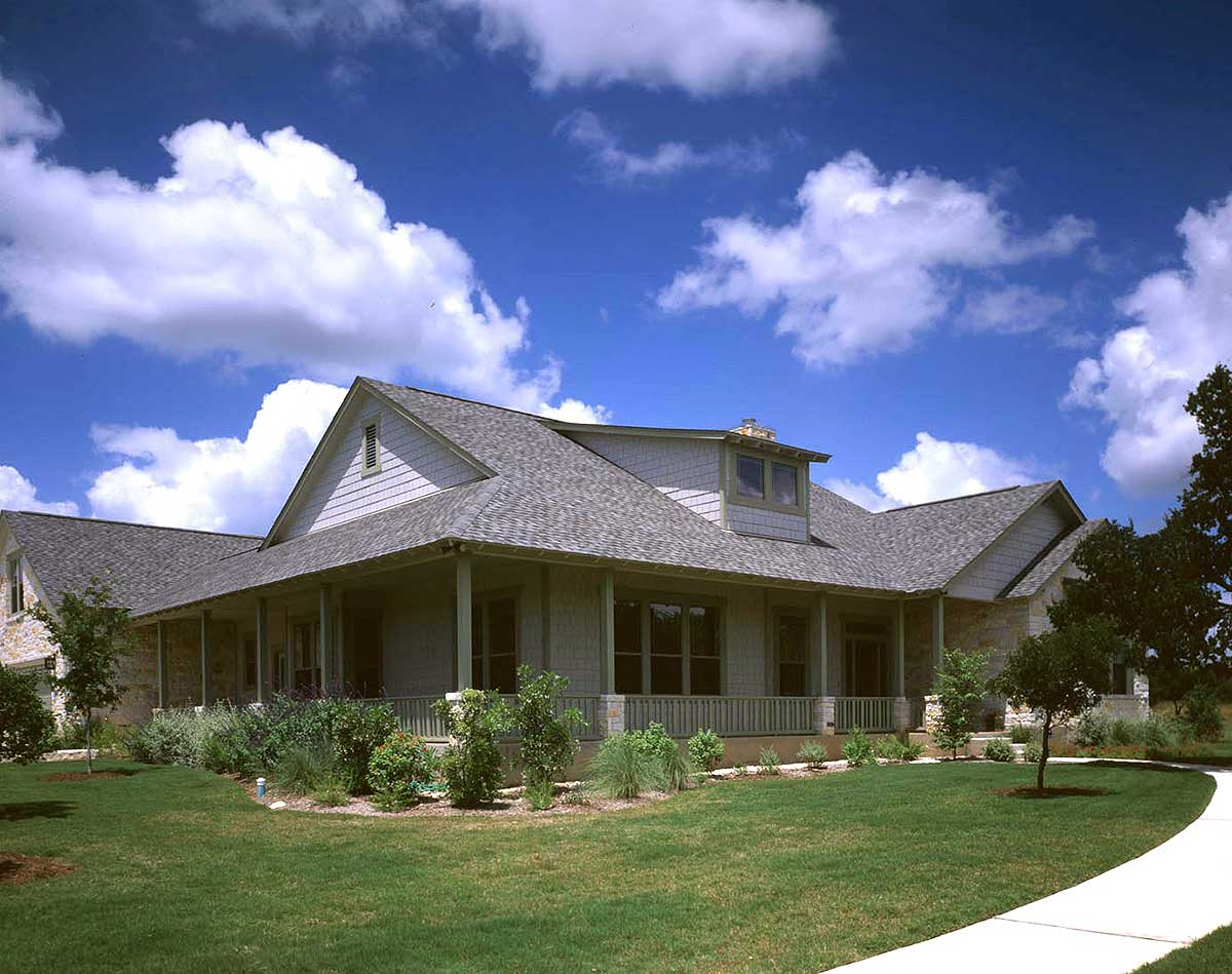 Splendid Hill Country Design - 31007d Architectural