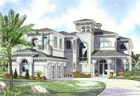 Luxury Mediterranean House Plan - 32058AA | Architectural ...