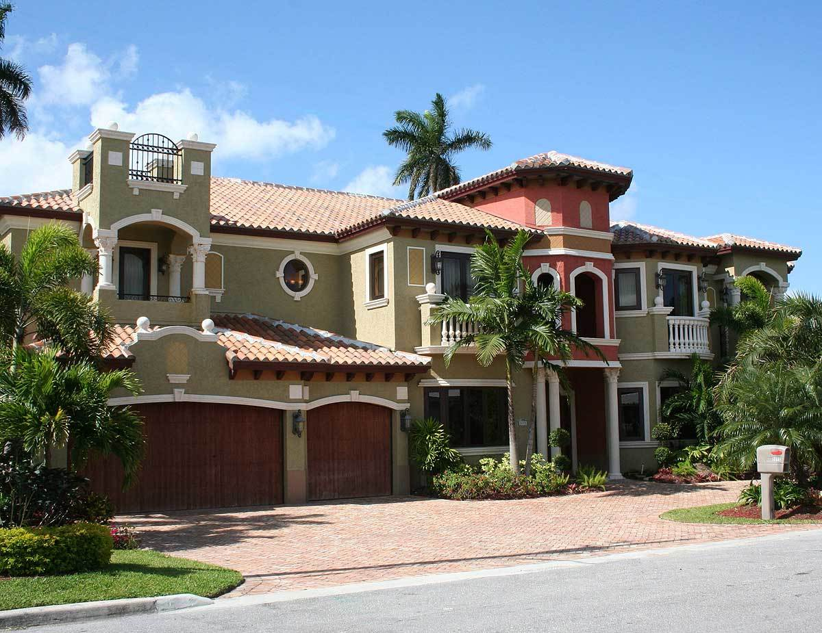 Mediterranean House Plans 2 Story Homes