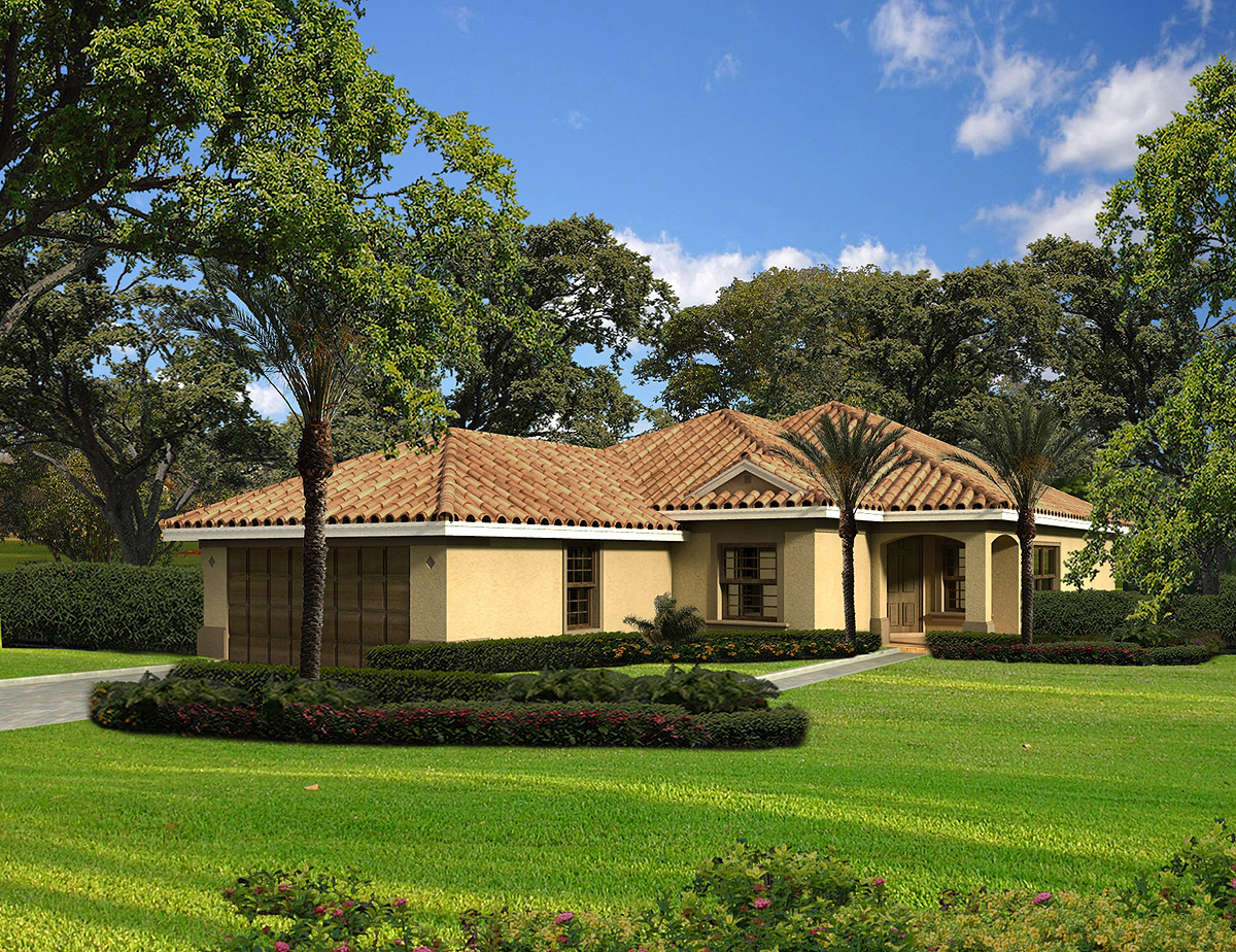 Spanish Style House Plans One Level