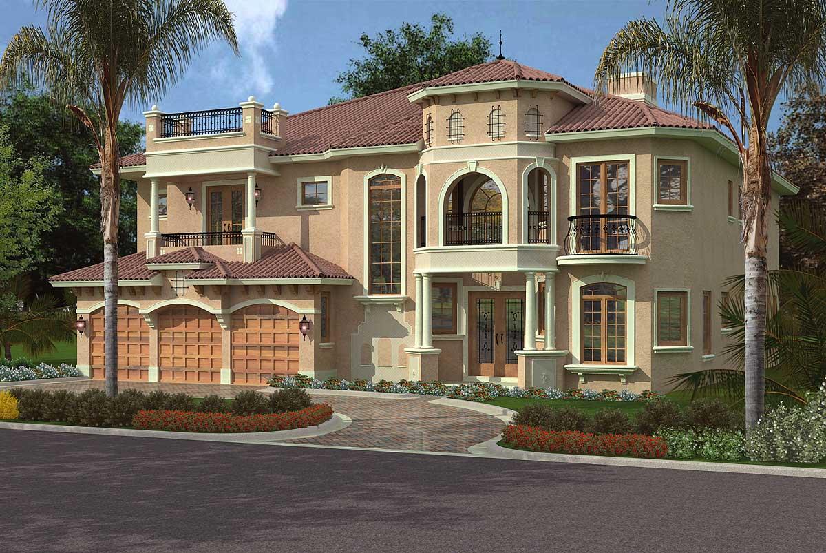 Luxury Mediterranean House Plans
