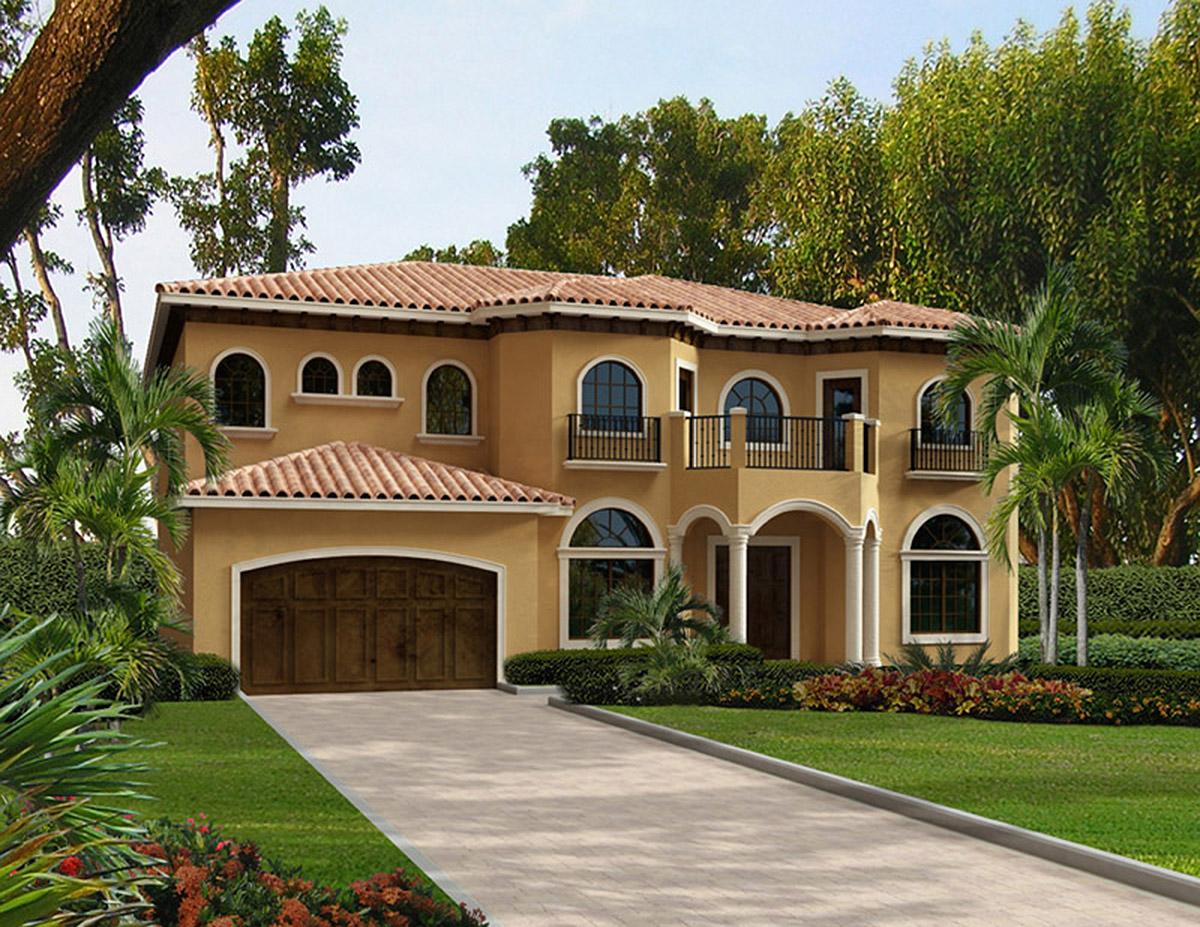 5-Bedroom Mediterranean House Plans