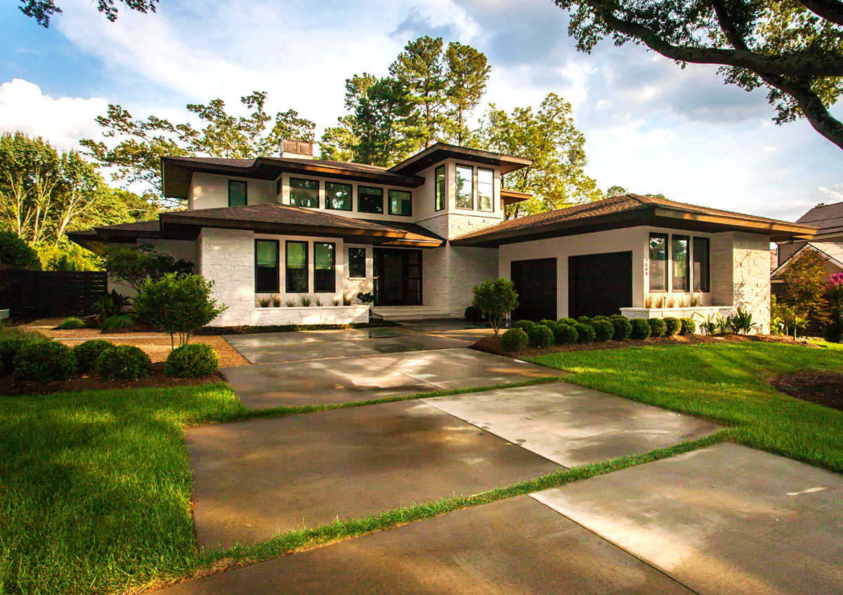 Prairie House Plans - Architectural Design