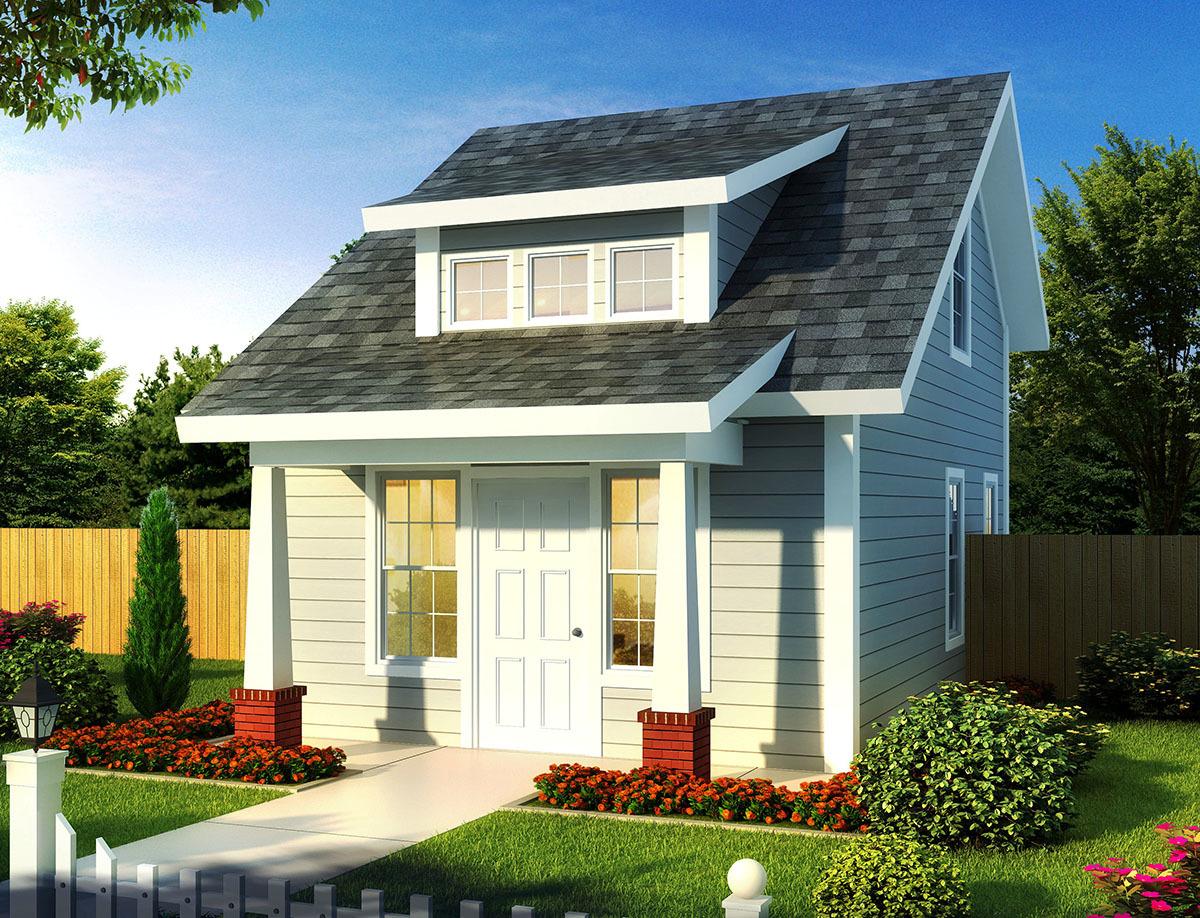 Tiny Cottage Or Guest Quarters 52284wm Architectural
