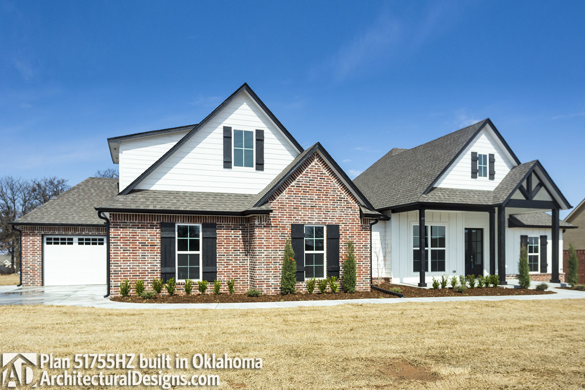 House Plan 51755hz Life In Oklahoma