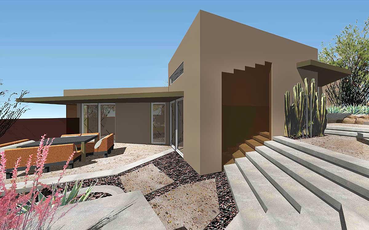 Exclusive Unique Modern House Plan  450001ESP  Architectural Designs  House Plans