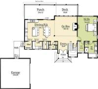 Modern House Plan with Two-Story Great Room - 18831CK ...
