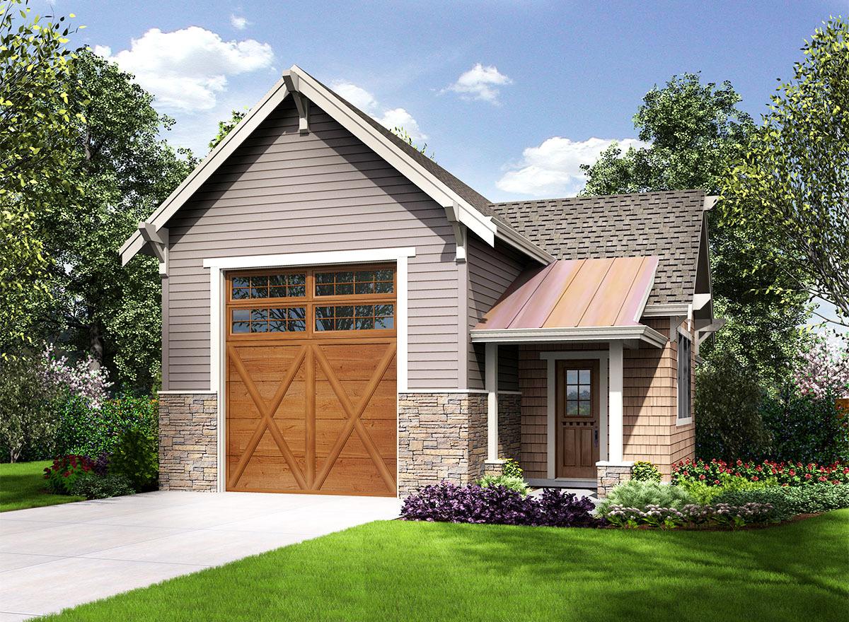 Craftsman Style Rv Garage - 23664jd Architectural