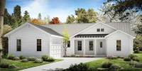 One Story Farmhouse Plan - 25630GE | Architectural Designs ...