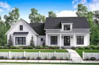 Budget Friendly Modern Farmhouse Plan with Bonus Room ...