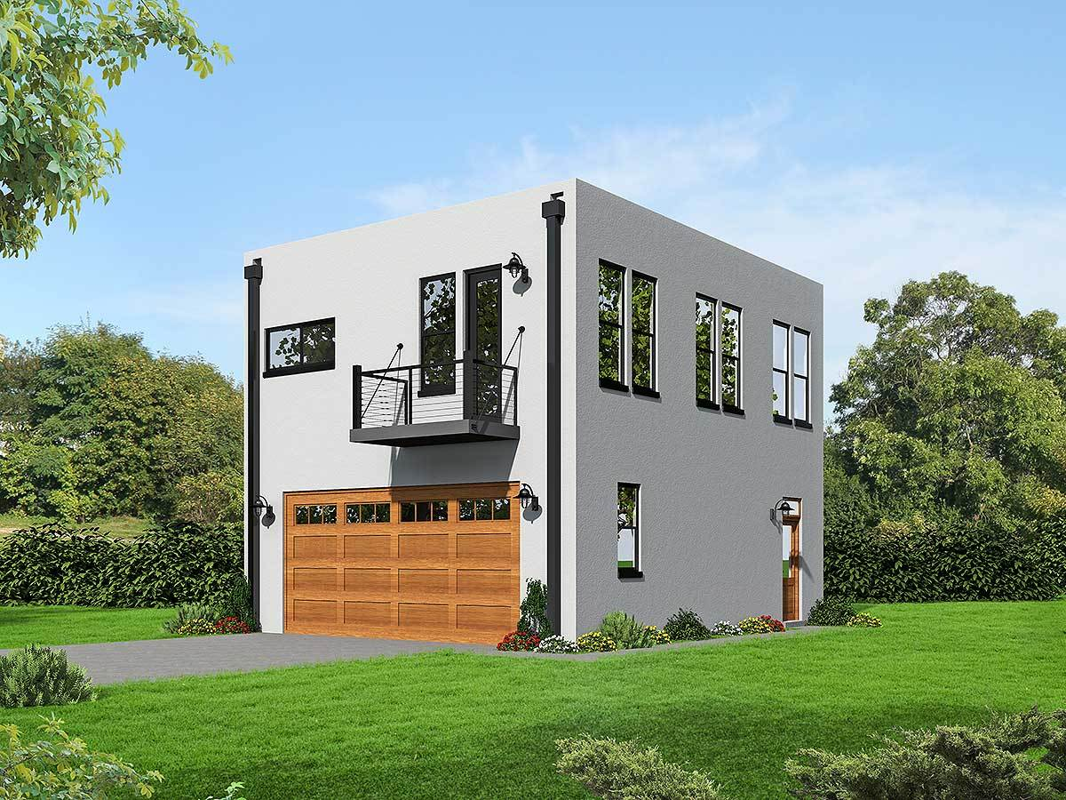 Modern House Plans with Garage Apartment