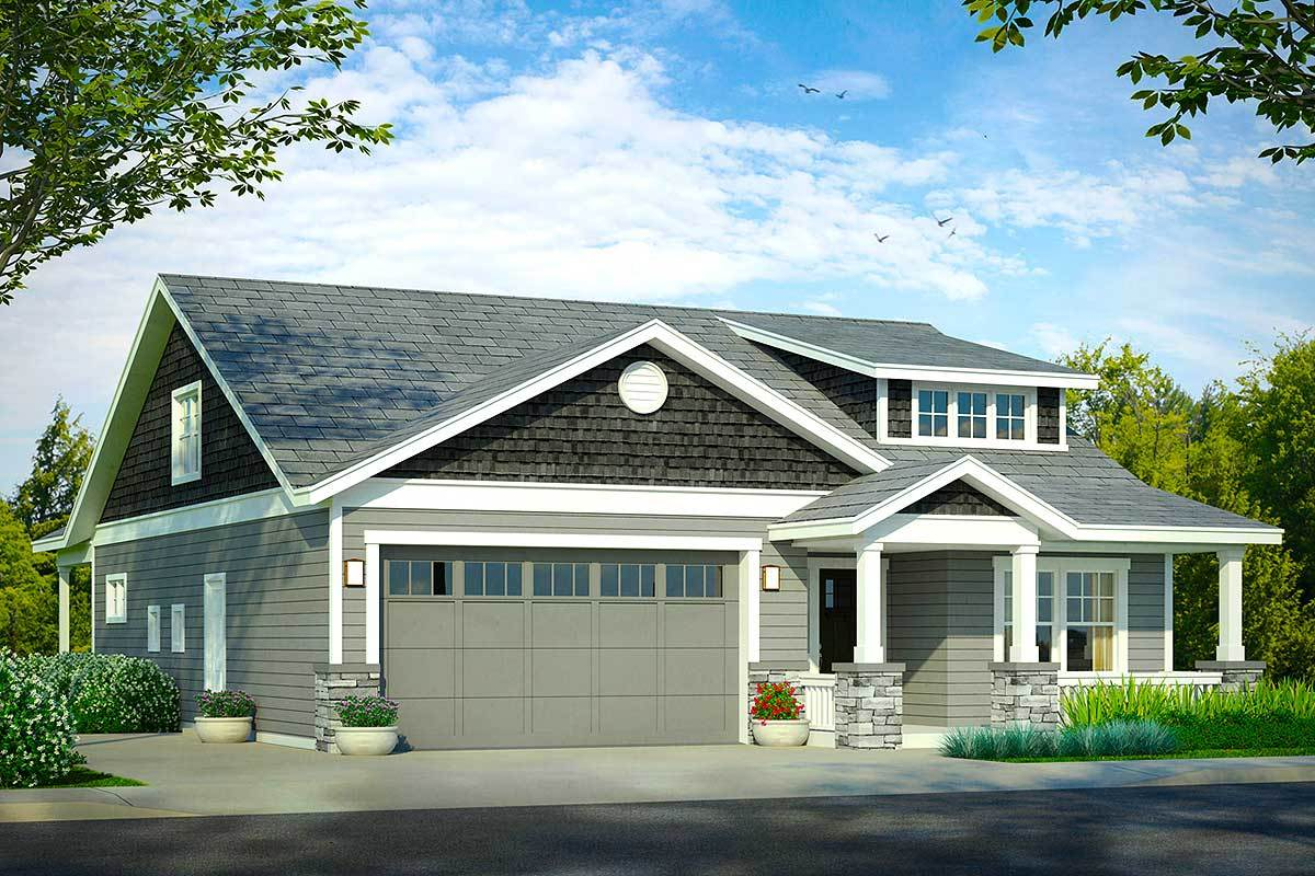 Bungalow Cottage House Plans