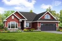 Traditional Ranch House Plan with Bonus Room - 72872DA ...