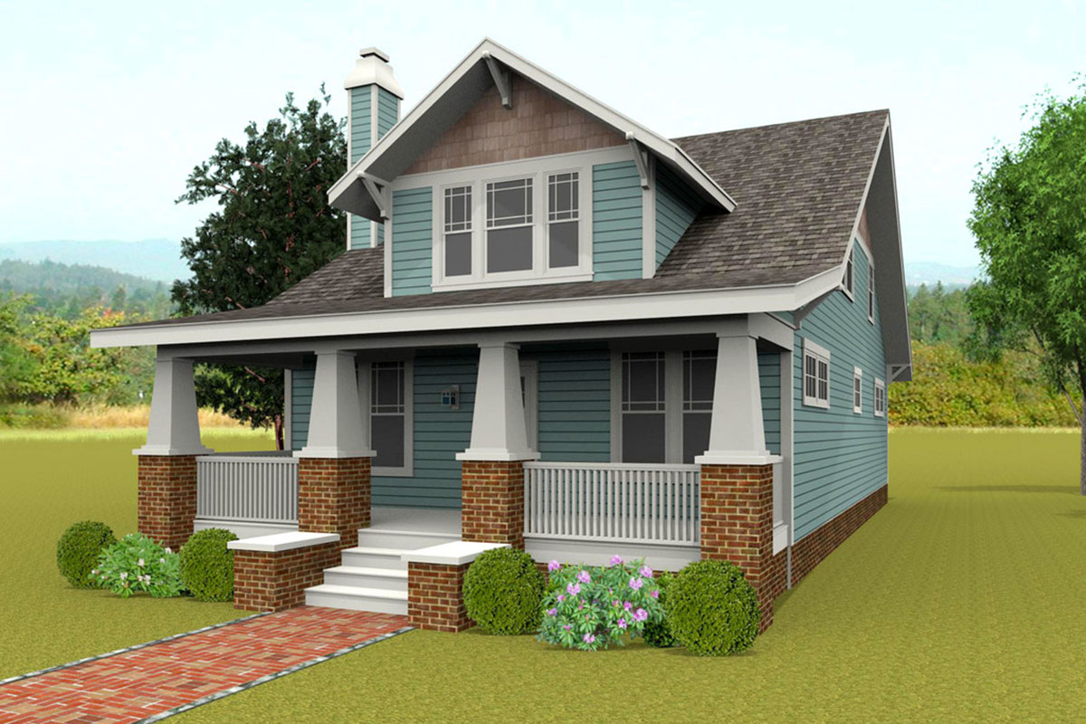 Classic Craftsman House Plan With Options 50151ph