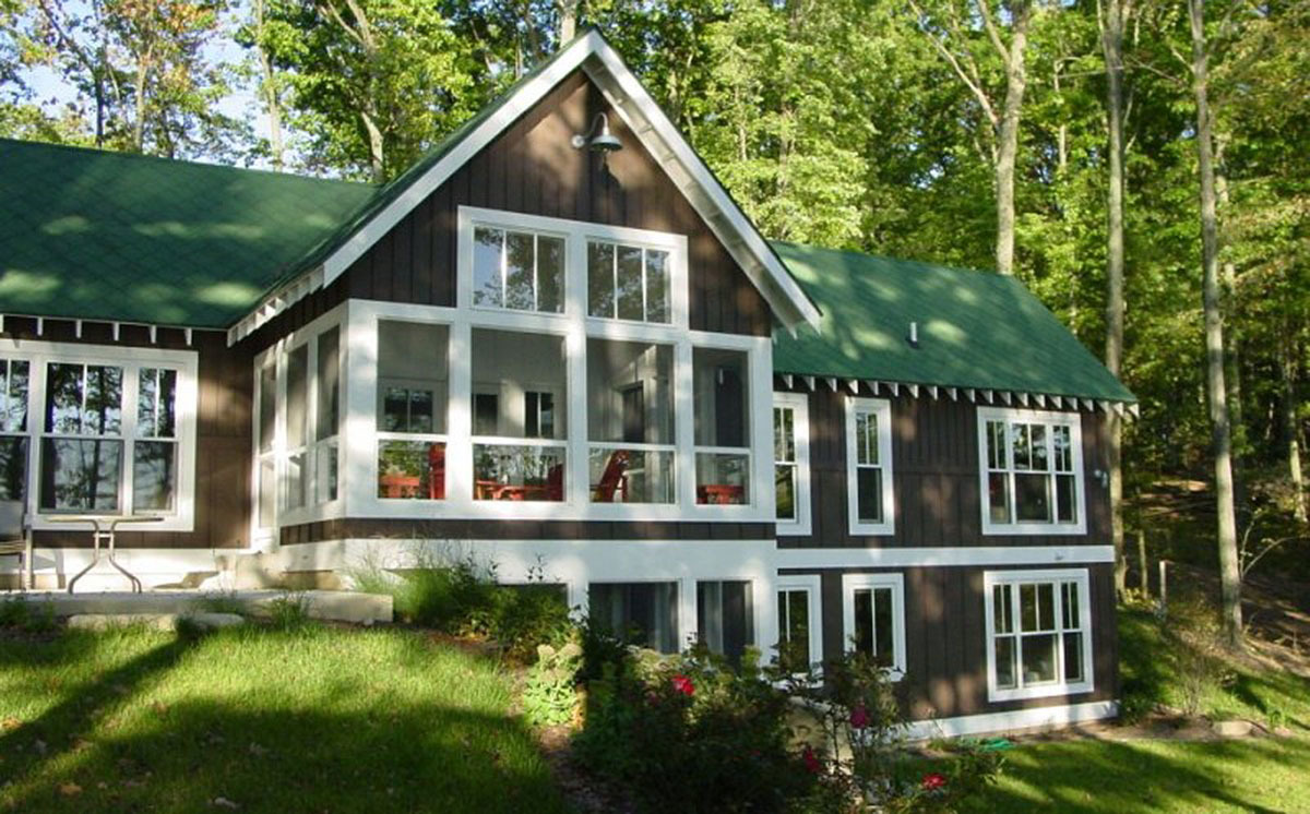Mountain Retreat With Vaulted Great Room 970003vc