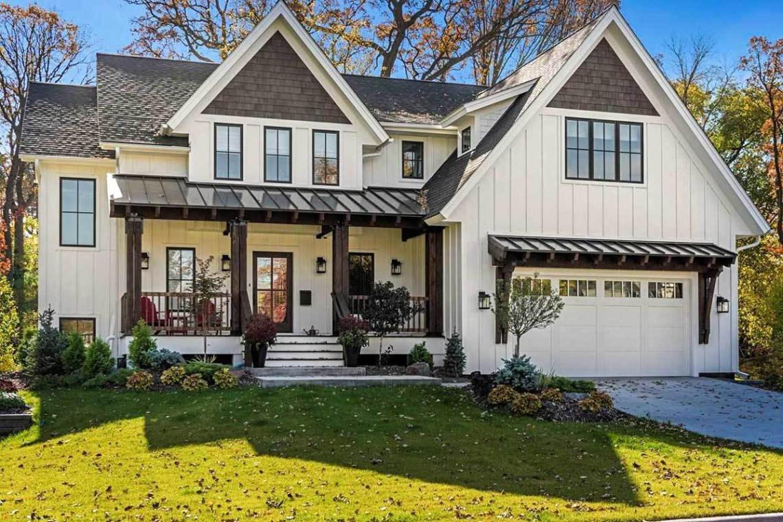 Modern Farmhouse with Optional Finished Lower Level ...