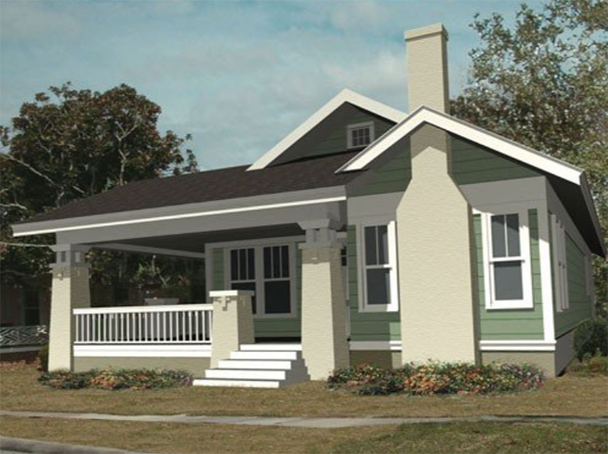 Bungalow House Plans with Wrap around Porch
