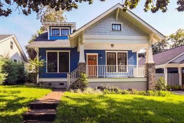 plans bungalow porches plan front craftsman homes garage houseplans elevation porch cottage sq designs ft story cabin west