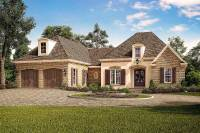 Exclusive Acadian French Country House Plan with Vaulted ...