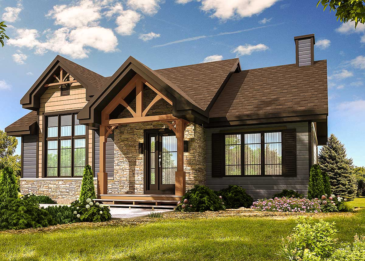 Modern Craftsman With Optional Finished Lower Level