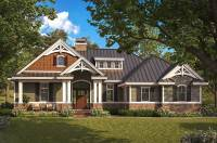 Exquisite Two Bedroom Craftsman House Plan - 66385WE ...