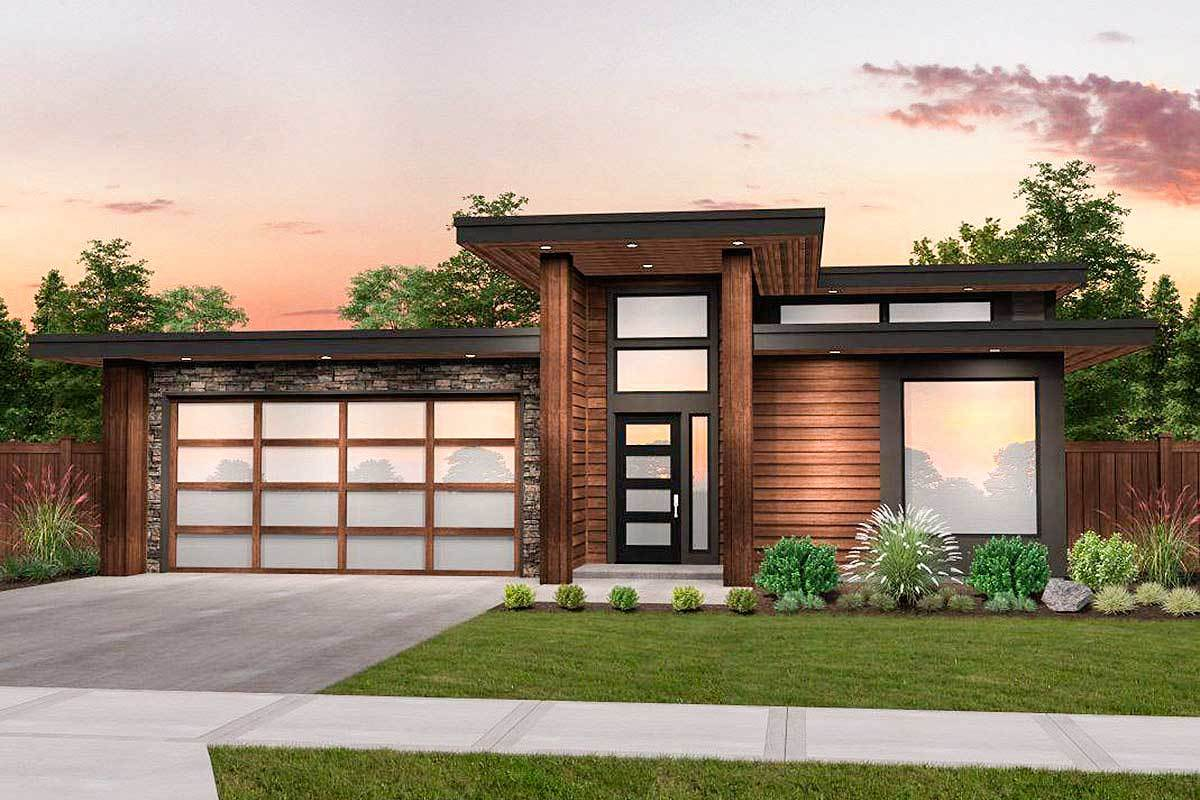 Modern House Plan With 3 Beds And Casita Makes 4 85198ms