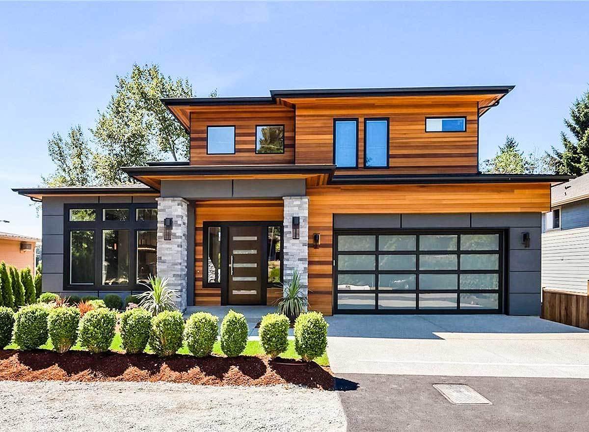 Modern Prairie House Plans