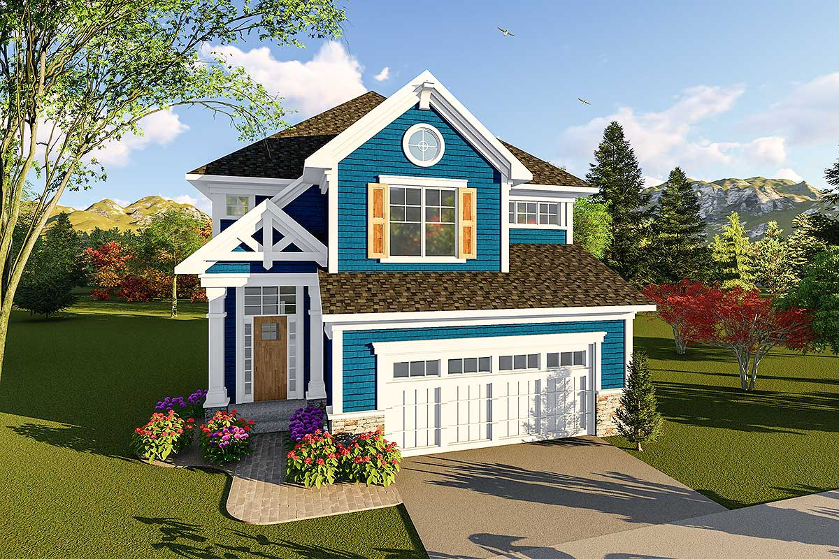 Craftsman Two-story House Plan - 890058ah Architectural