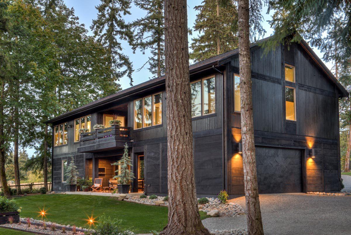 TwoSuite Modern Rustic House Plan  737002LVL