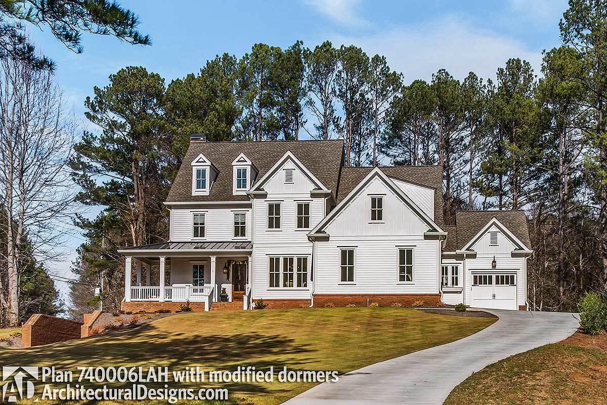 Craftsman Farmhouse House Plan - 740006lah Architectural
