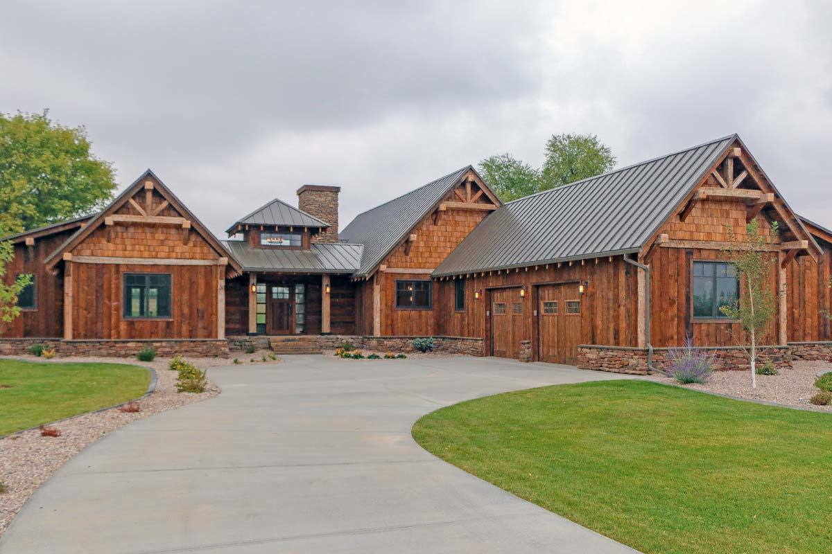Mountain Rustic Ranch House Plans