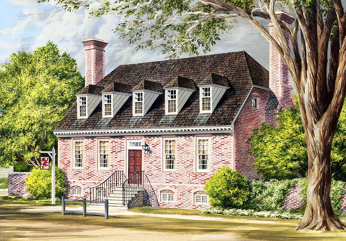 Traditional Colonial Home Plans