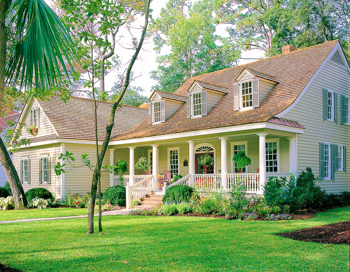 Charming Country House Plan - 32658wp Architectural