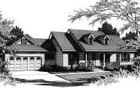 One-Story Farmhouse Plan - 3424VL | Architectural Designs ...