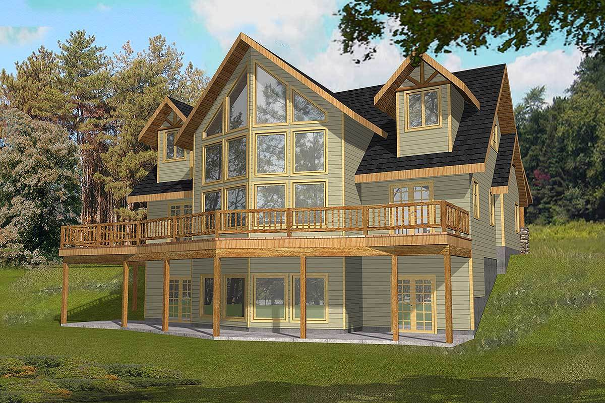 Great Views - 35259gh Architectural Design House Plans
