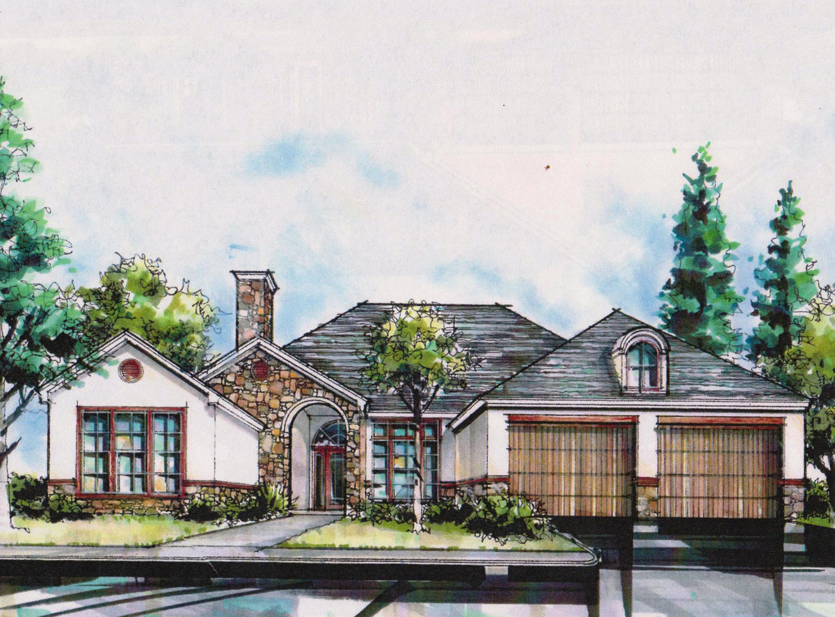 Ranch House Plans for Sloping Lots