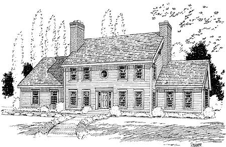 corner kitchen nook white stone countertops classic colonial house plan - 3723tm | 2nd floor master ...