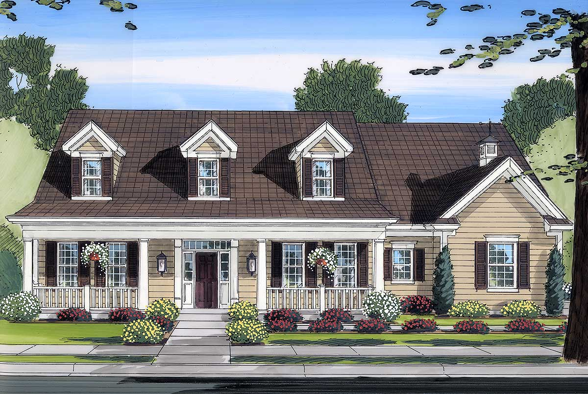 Cape Cod House Plans for Country Homes