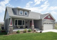 Craftsman Touches and a Shed Dormer - 41025DB ...
