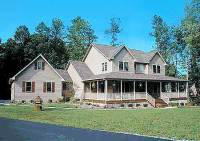 Country Home Plan With Marvelous Porches - 4122WM ...