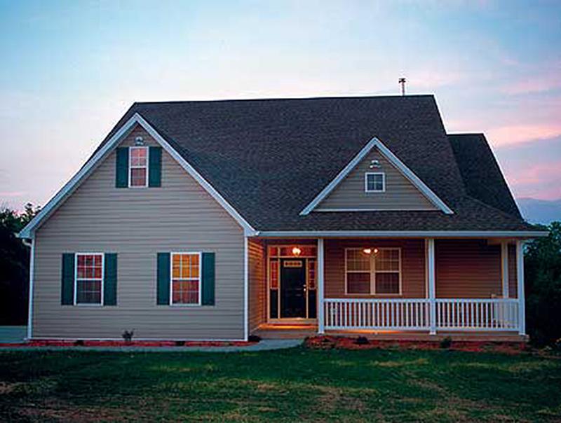 Cute Country Design 4124wm 1st Floor Master Suite