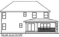 Home Plan With L-Shaped Front Porch - 42287DB ...