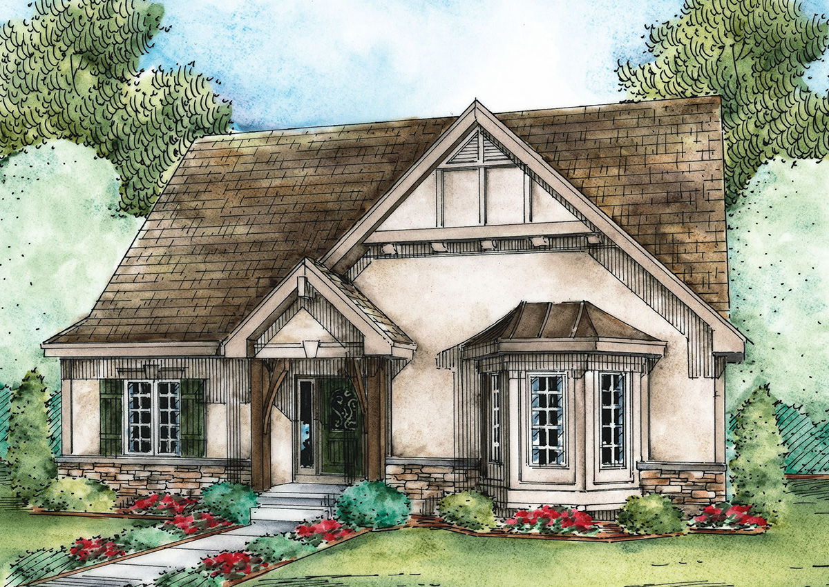 European Cottage House Plans